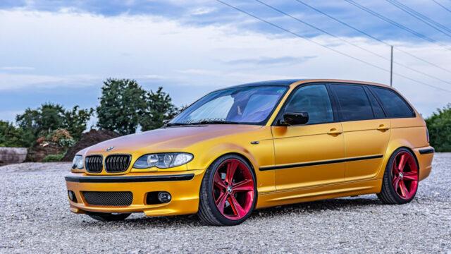 Folienfarbe gelb / gold